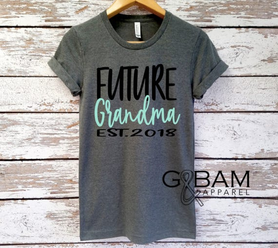 Boyfriend tee / \GRANDMA SHIRT /Grandma tee/ You're a grandma / Grandma gift / future grandma / we're Pregnant