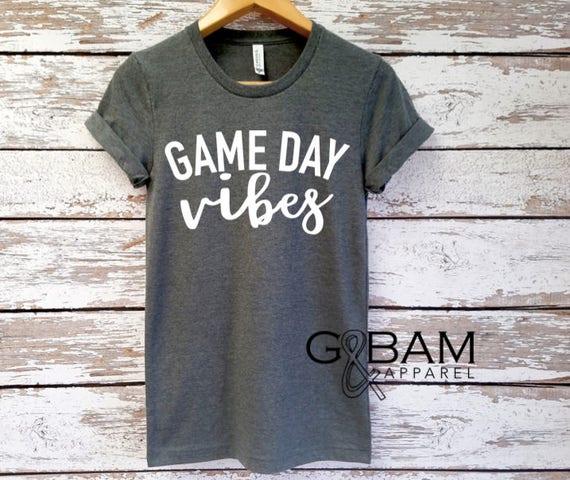 Game day vibes // Football shirt // Football Season //