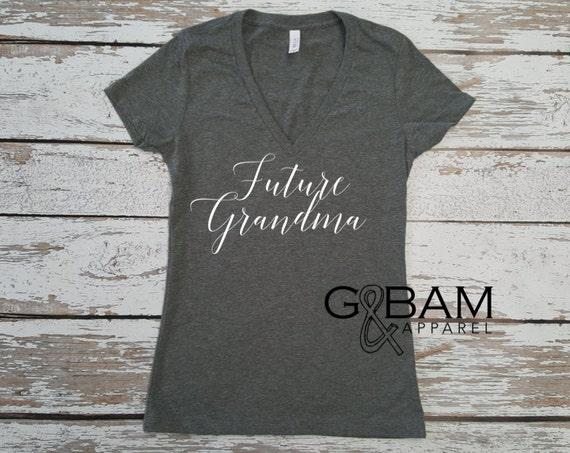 Future Grandma Shirt / You're going to be an Nana / You're going to be an Grandma / Pregnancy reveal / Family Pregnancy reveal