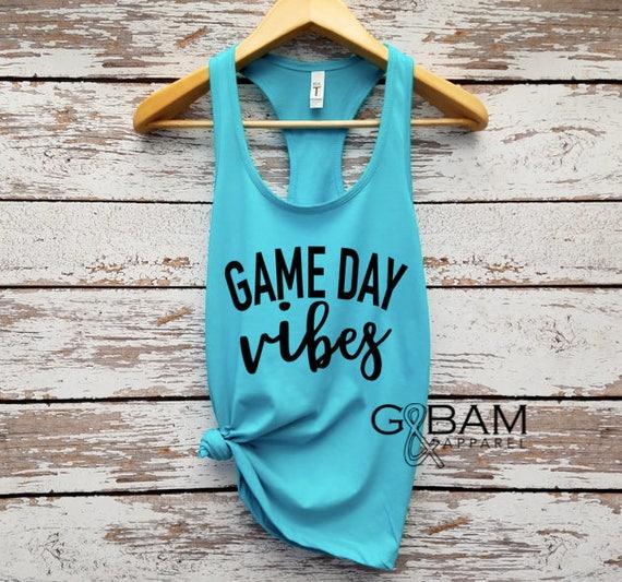 Game day Vibes Tank // Football tank top // Football season // Game day