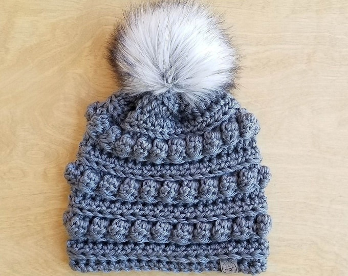 Featured listing image: Made To Order: Child Bobble Beanie