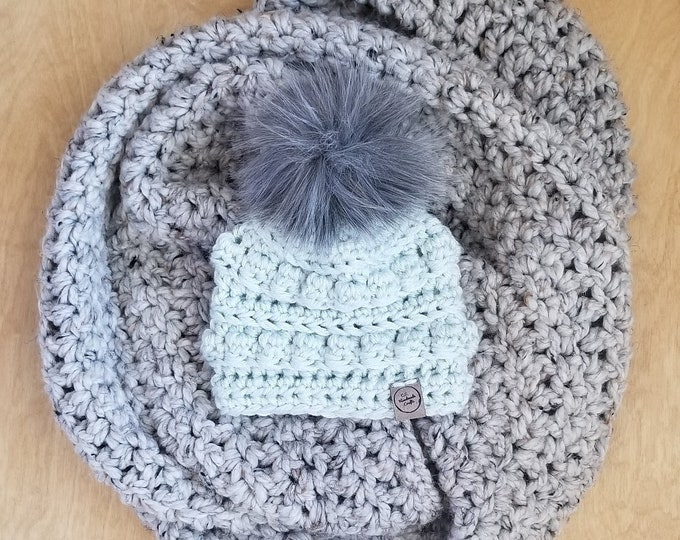 Featured listing image: Made To Order: Baby Bobble Beanie