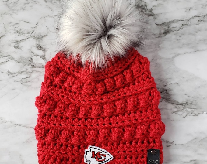 Featured listing image: Red Kansas City Chiefs Beanie