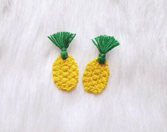 Custom Boho Pineapple Earrings - The Summer Collection