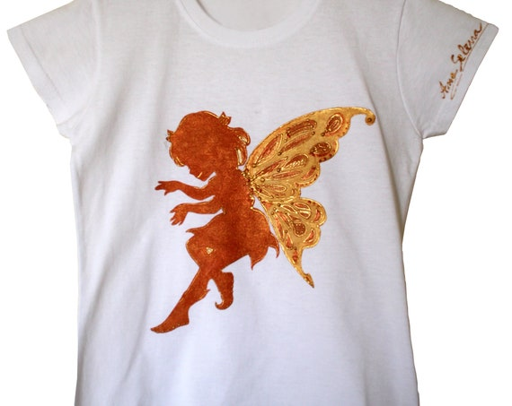 """Little Angel"" T-shirt for girls 3-4 years old"