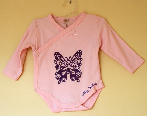 "Body ""Butterfly"" for baby girl 0-3 months"