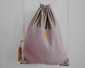 the other young bag in dusty pink, gym-bag, sport, materials: wool and Outdoormaterialien, casual, pastel