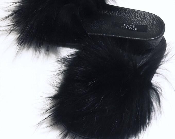 Black Raccoon Slides