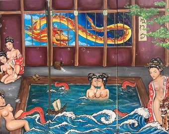 Sento: Bathhouse Print