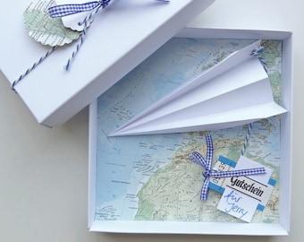 Money Gift Packaging Travel Voucher Airplane, Birthday Wedding Gift Gift Money Honeymoon Honeymoon