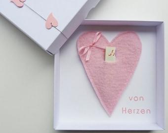 "Money gift packaging ""heart"" for wedding birthday gift, boyfriend girlfriend husband wife birthday gift she him cordzpieps card"