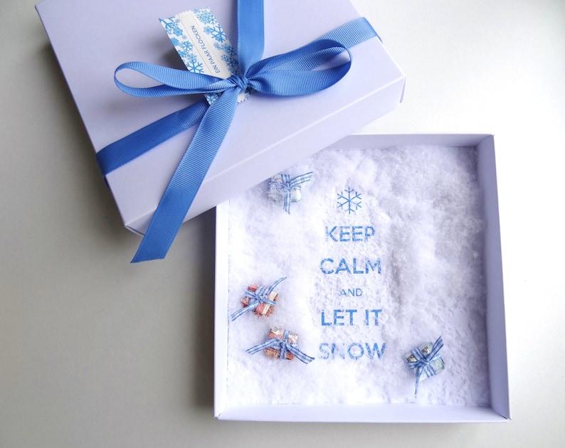 Geldgeschenk Ein paar Flocken Schneeflocken Reise Skiurlaub image 0