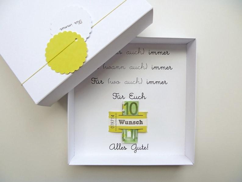 Money gift packaging for Wedding Forever wedding image 0