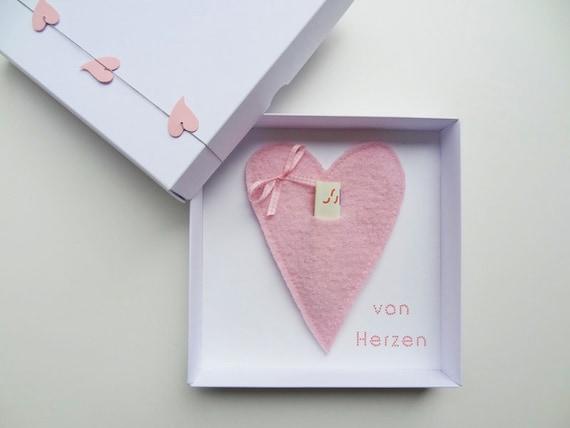 Geldgeschenk Verpackung Herz Fur Hochzeit Etsy