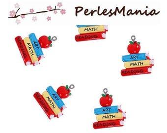 PAX 5 resin pendants book BACK to SCHOOL S1195378