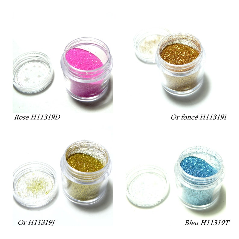 scrapbooking colors of your choice PAX 1 5gr fine sequin box for inclusion resin nail art