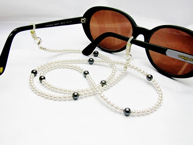 e145c4c321 Cordon lunettes perlé chaine de lunettes swarovski collier | Etsy