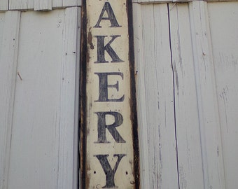 Large Farmhouse Style Bakery Sign