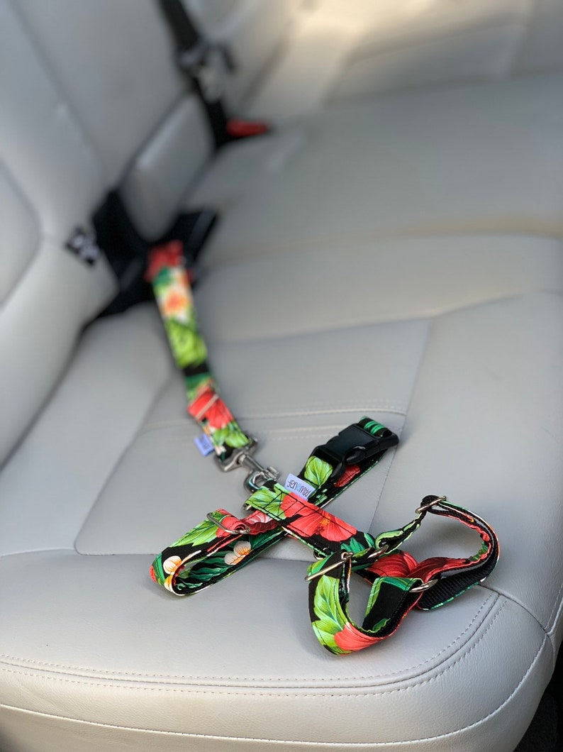 Dog Seatbelt  Safety dog belt cars image 0