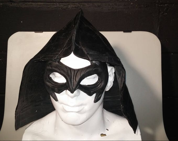Deluxe Costume Hood - Latex Rubber
