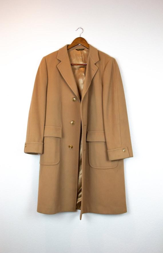 Men's Wool Overcoat / Vintage Barrister for Walker