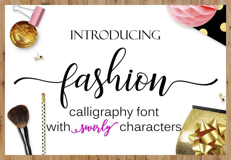 Font Swirly Cricut font Fonts Download Font Digital Font image 0