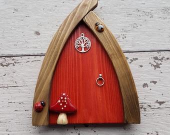 Outside/Indoor garden Fairy Door Elf Door Terracotta Range Beautiful Handmade Fairy Garden Door Magical Portal