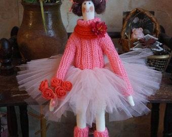 Tilds doll ballerina