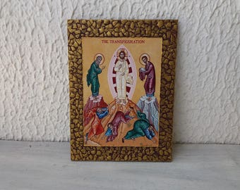 Transfiguration Icon of Christ,Icon of God,Jesus Transfiguration