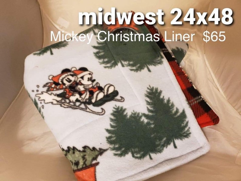 Midwest Mickey Mouse Christmas Liner