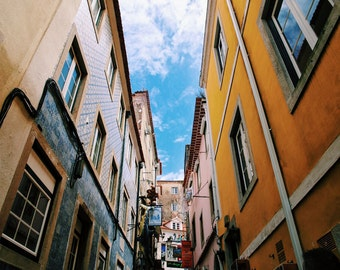 Side Streets of Lisbon