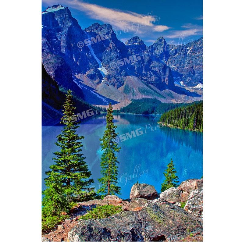 Canadian Rockies Photos Banff National Park Moraine Lake image 0