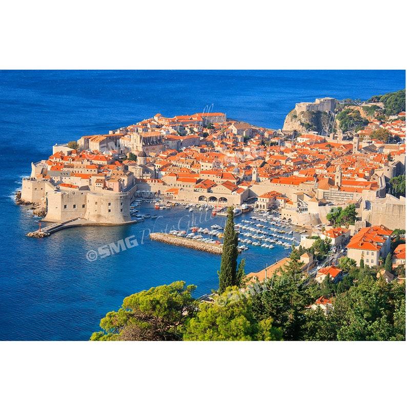 Dubrovnik Croatia photography Dubrovnik print Dubrovnik image 0