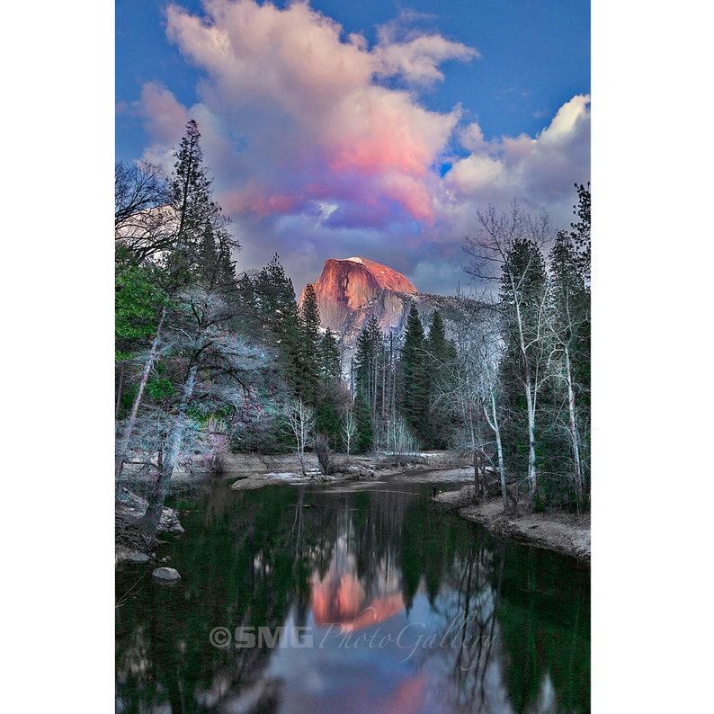 Yosemite California National Park Half Dome Home Decor image 0