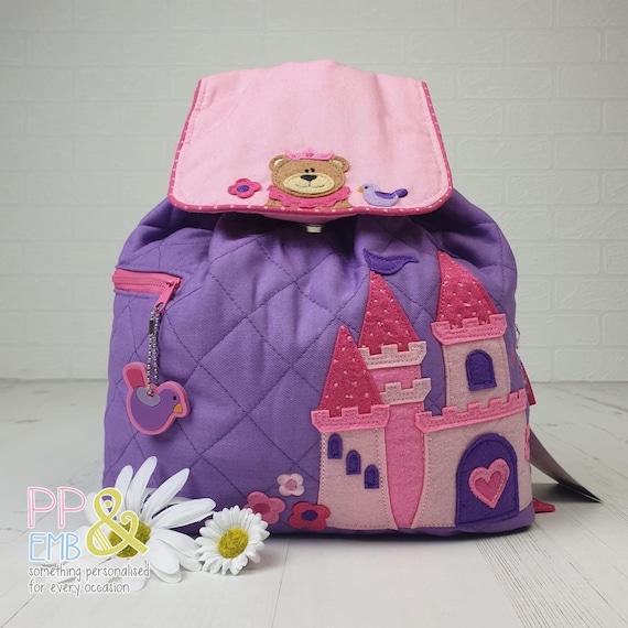 Nursery Bag School Digger Personalised Stephen Joseph Backpack