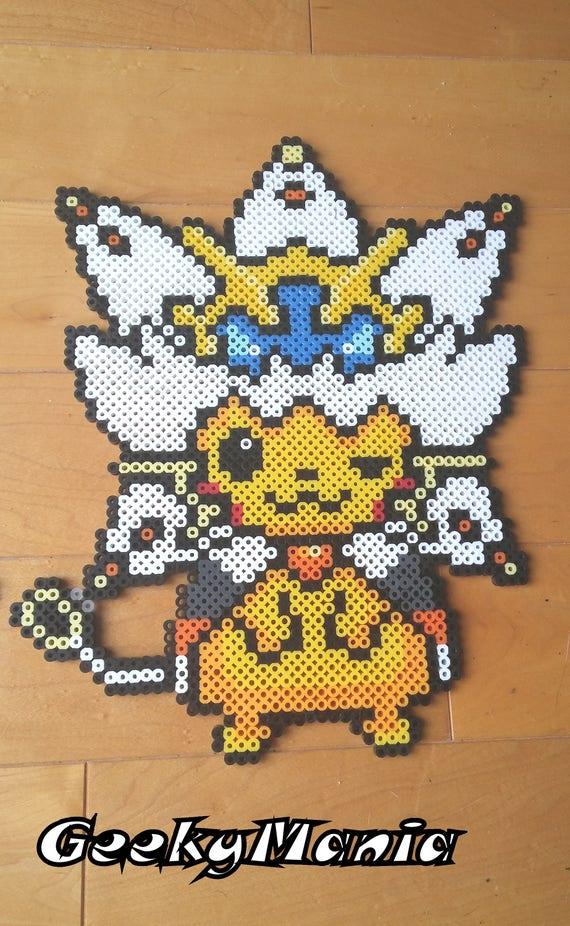 Pixel Art Pokemon Lunala Facile