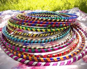 Handmade Hula hoop handmade.   Perfect for dancing, cardio, aerobics, for children, circus, etc.