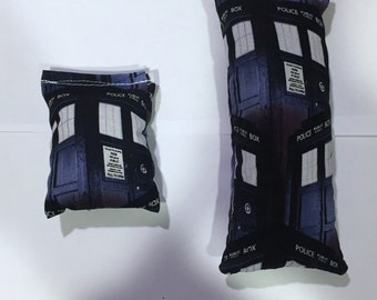 CatNip Pillow Bundle Doctor Who Tardis 100% Cat Nip No Filler
