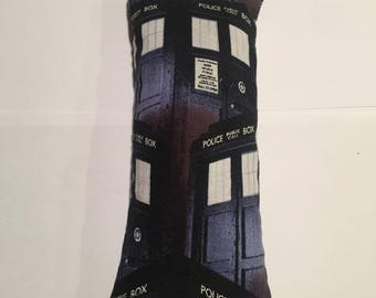 CatNip Kicker Pillow Toy Doctor Who Tardis Design 100 % Cat Nip No Filler