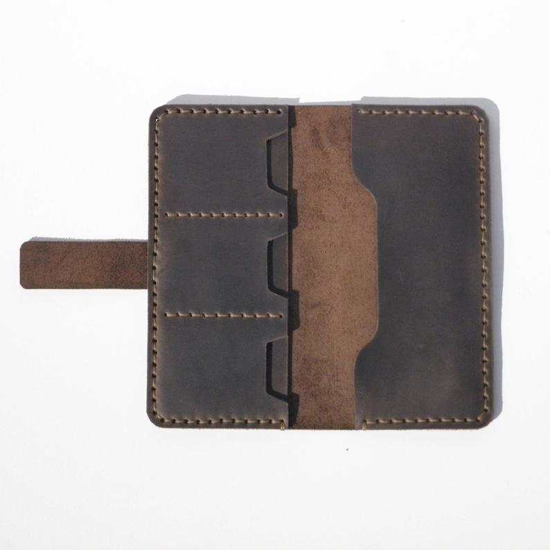 1d49d794f Mujer cartera billetera de cuero para mujer regalo para su | Etsy