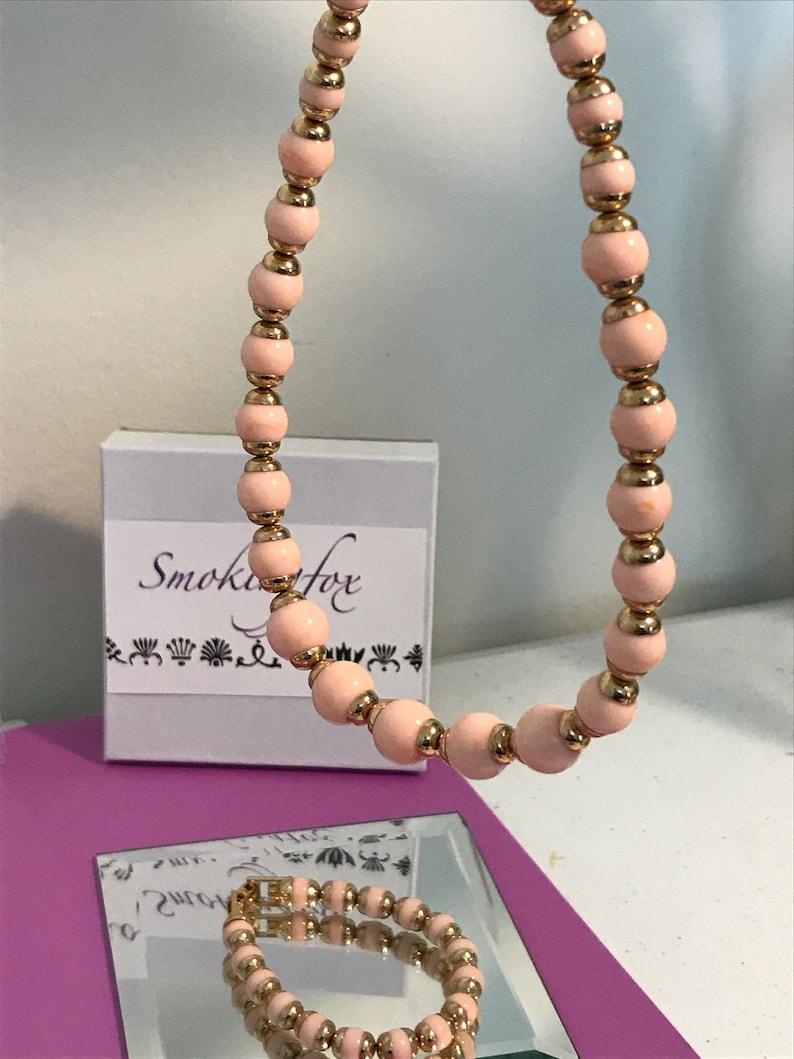 Avon Soft Blush convertable necklace and bracelet