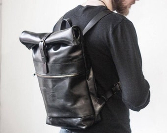 Men leather backpack, travel backpack, womens leather backpack, mens backpack, laptop backpack, leather backpack purse, hipster backpack