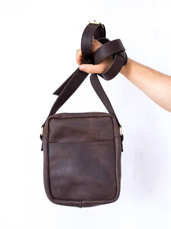 meilleur site web b25ac 65dc7 Sac bandoulière, en cuir hommes sac homme, sac a main, hommes sac sac à  main, petit sac en cuir, sac à bandoulière pour homme, petit sac besace ...