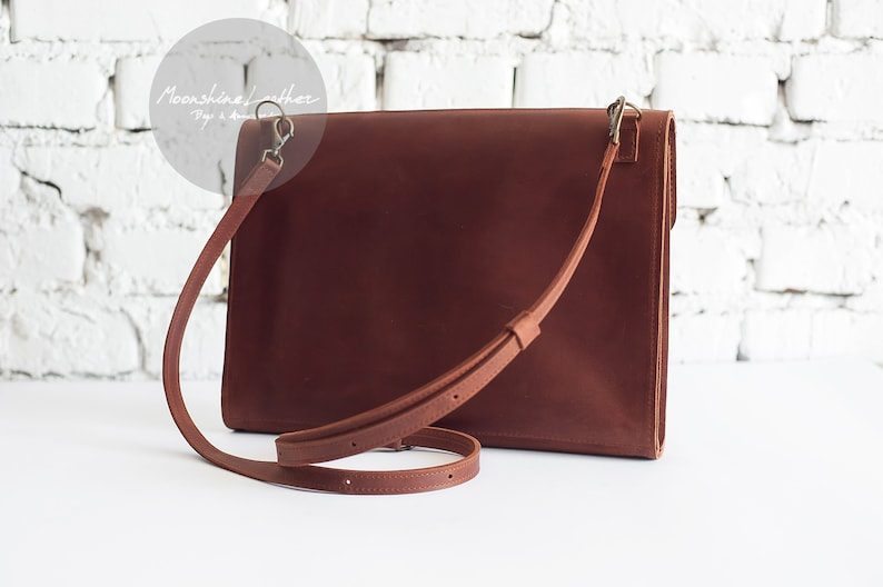 626dfce23a SALE Folder BAG Leather folder Womens crossbody bag Minimalist