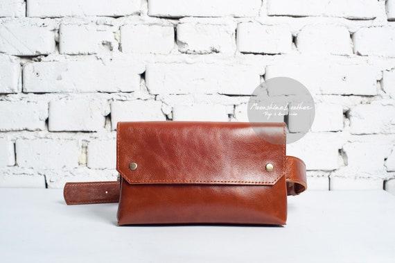 Leather belt bag for women,Belt bag women,Hip bag for women,Belt bag leather,Belt pouch leather,Leather waist bag for women