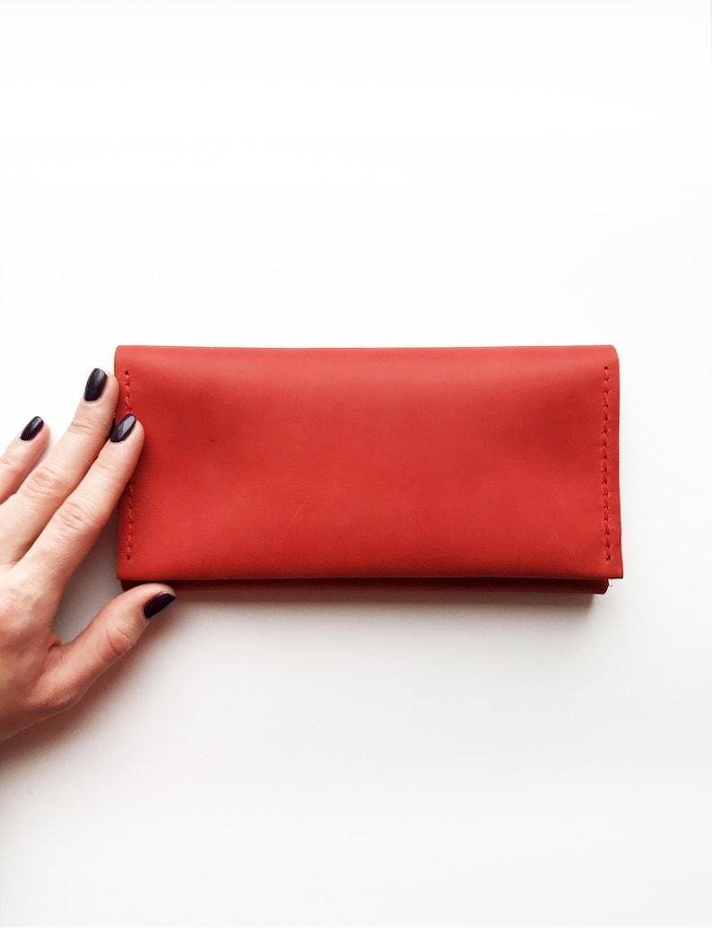 Women leather wallet leather wallet purse iPhone wallet  5835d8f681