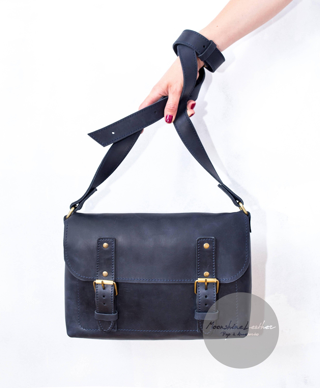Vintage leather crossbody genuine leather bag mens leather