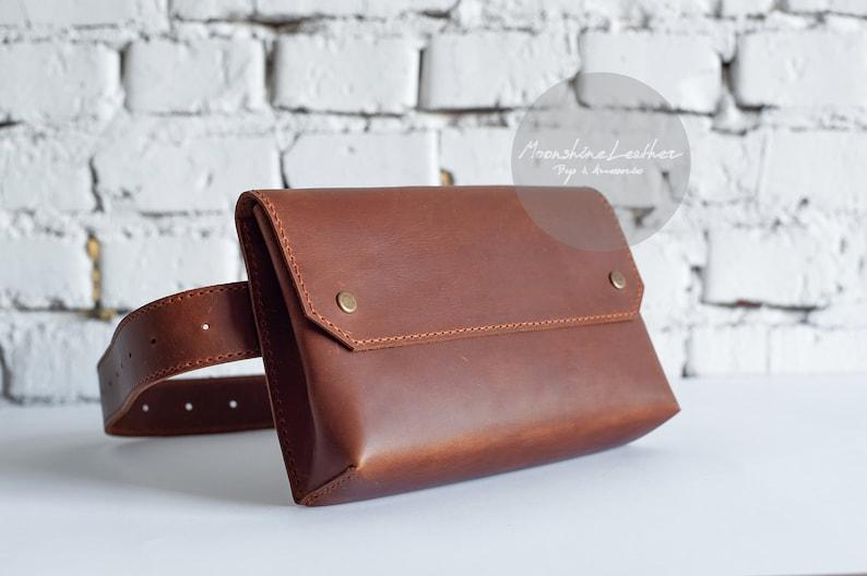 ad4feb9bd11f Womens CROSSBODY Fanny pack Crossbody bag Leather belt bag Bum   Etsy