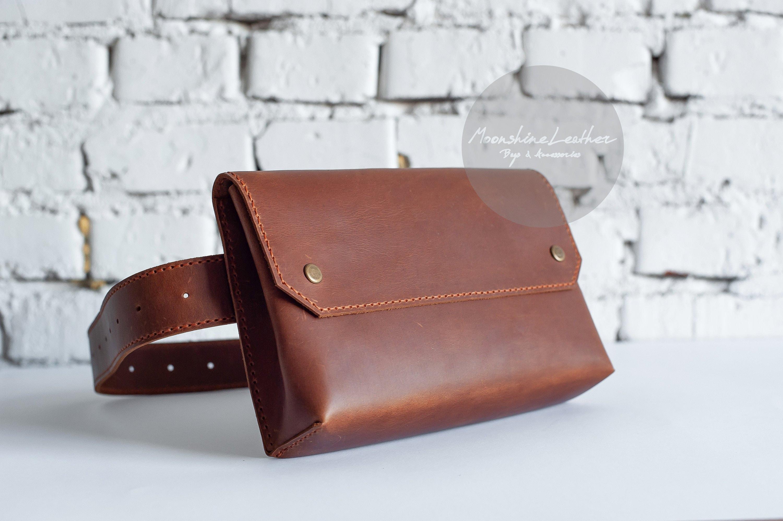 ea2b5bc15ea Womens CROSSBODY Fanny pack Crossbody bag Leather belt bag Bum