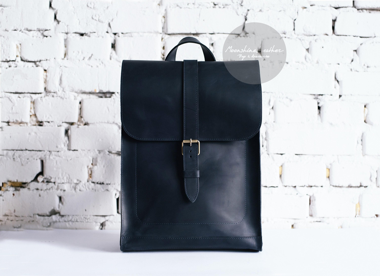 MINIMALIST leather BACKPACK Womens backpack Backpack purse  b790c0aa4bf2